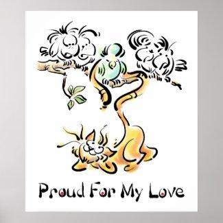 Proud Love print