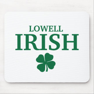 Proud LOWELL IRISH! St Patrick's Day Mouse Pad
