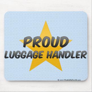 Proud Luggage Handler Mousepads