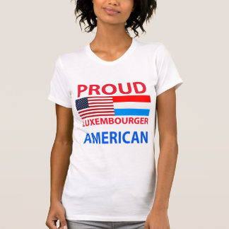 Proud Luxembourger American T-shirts