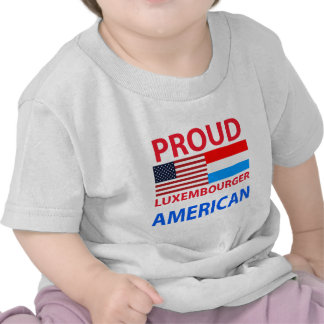 Proud Luxembourger American T-shirt
