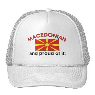 Proud Macedonian Trucker Hat