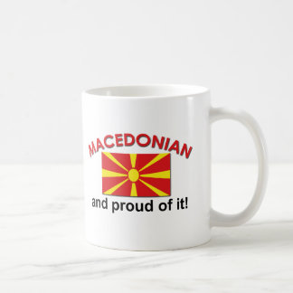 Proud Macedonian Coffee Mugs