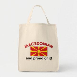 Proud Macedonian Tote Bag