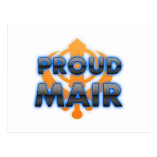 Proud Mair, Mair pride Postcard
