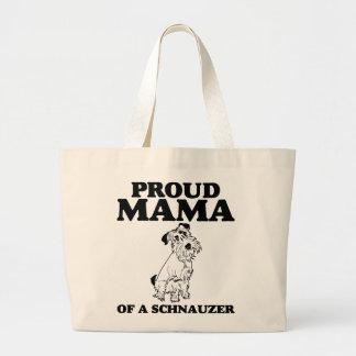 Proud Mama of a Schnauzer Tote Bag