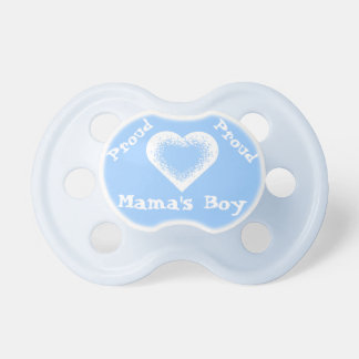Proud Mama's Boy Add Photo or Name if you wish! BooginHead Pacifier