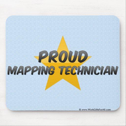Proud Mapping Technician Mousepad