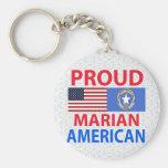 Proud Marian American Key Chain