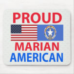 Proud Marian American Mousepad