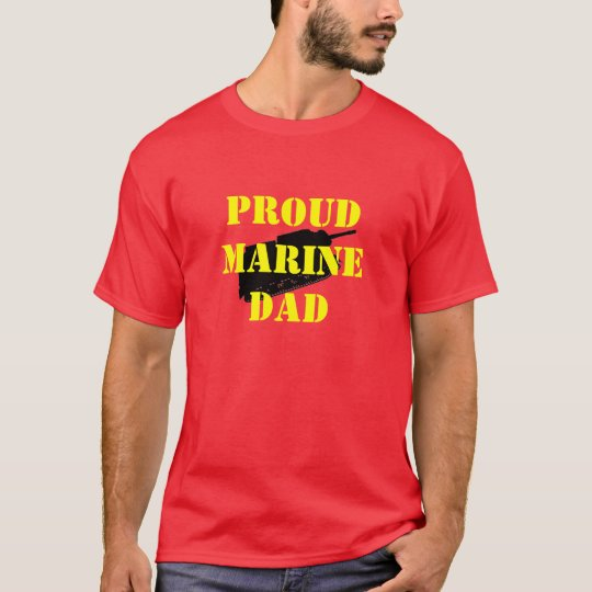 PROUD MARINE DAD T-Shirt