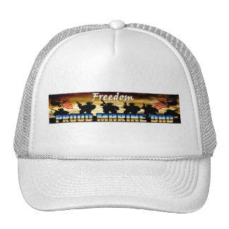 Proud Marine Dad Trucker Hat