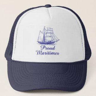 Proud Maritimer  nautical sailing hat Nova Scotia