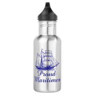 Proud Maritimer Nova Scotia water bottle