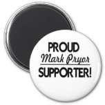 Proud Mark Pryor Supporter! 2 Inch Round Magnet