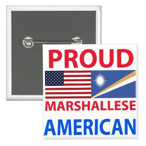 Proud Marshallese American Pin