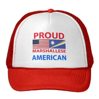 Proud Marshallese American Hats