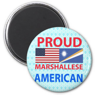 Proud Marshallese American Magnet