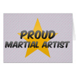 Proud Martial Artist Greeting Cards