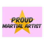 Proud Martial Artist Post Cards
