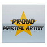 Proud Martial Artist Posters