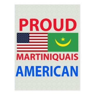 Proud Martiniquais American Postcard