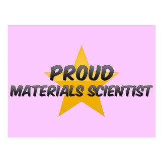Proud Materials Scientist Post Cards