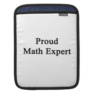 Proud Math Expert iPad Sleeve
