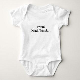 Proud Math Warrior T-shirts