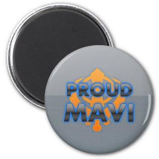 Proud Mavi, Mavi pride 2 Inch Round Magnet