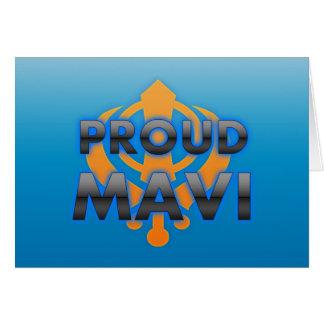 Proud Mavi, Mavi pride Greeting Card