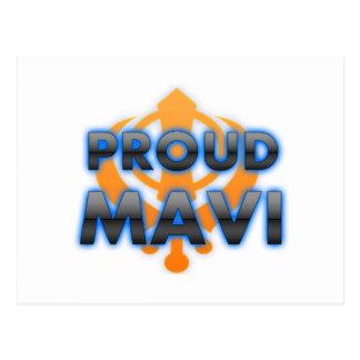 Proud Mavi, Mavi pride Postcard
