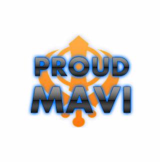 Proud Mavi, Mavi pride Standing Photo Sculpture