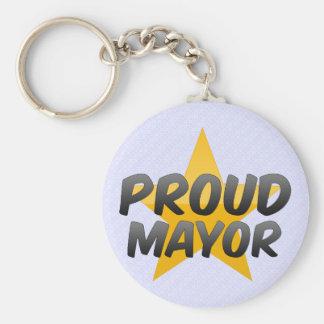 Proud Mayor Key Chain