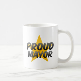 Proud Mayor Classic White Coffee Mug