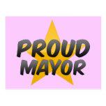 Proud Mayor Post Cards