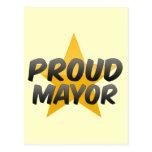 Proud Mayor Postcard