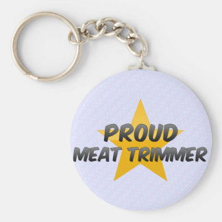 Proud Meat Trimmer Keychain