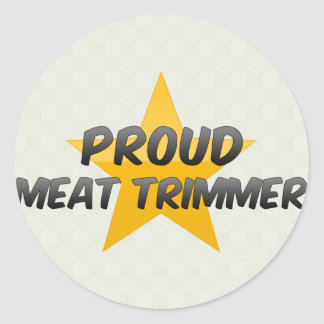 Proud Meat Trimmer Stickers