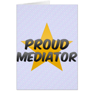 Proud Mediator Greeting Cards