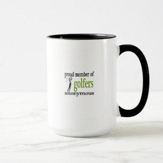 Proud Member of Golfers Anonymous Mug