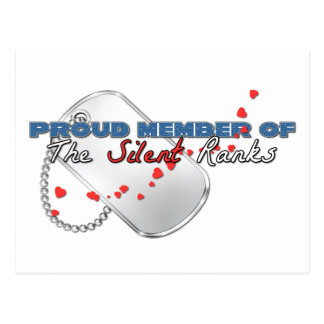 Proud Member of the Silent Ranks Postcard