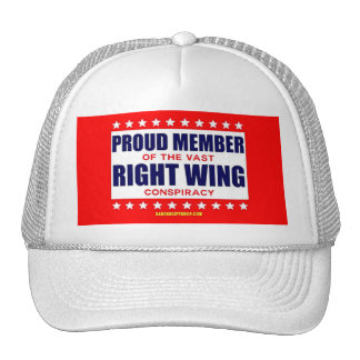 PROUD MEMBER OF THE VAST RIGHT WING CONSPIRACY TRUCKER HAT