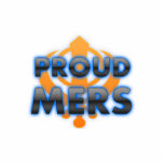 Proud Mers, Mers pride Acrylic Cut Out