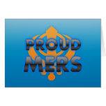 Proud Mers, Mers pride Greeting Cards