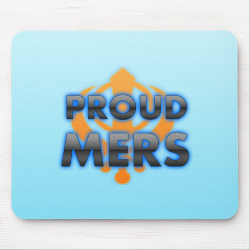 Proud Mers, Mers pride Mouse Pads