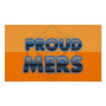 Proud Mers, Mers pride Poster