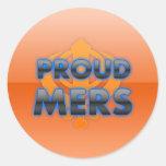 Proud Mers, Mers pride Stickers