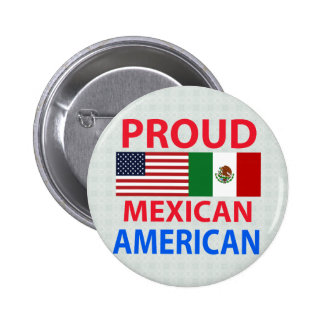 Proud Mexican American Pinback Button