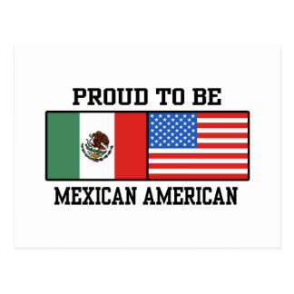 Proud Mexican American Postcard